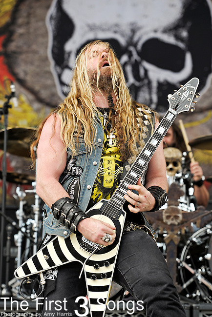Zakk Wylde of Black Label Society performs during the 2011 Rock On The Range festival at Columbus Crew Stadium on May 22, 2011 in Columbus, Ohio.