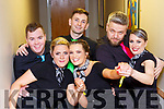 Stephen O'Donoghue, Aine Carolan, Ciara O'Donoghue, Emmet Fleming, Lukasz Hernas and Jana Lalikova at the Killarney Strictly Come Dancing in aid of the Irish Cancer Society in the INEC on Friday night