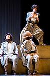 """Maria Galiana, Pastora Vega and Concha Delgado during theater play """"La Asamblea de las Mujeres"""" at Teatro La Latina in Madrid. August 23 2016. (ALTERPHOTOS/Borja B.Hojas)"""