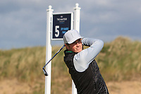 Monty Scowsill (Aldeburgh) during Round 1 of the The Amateur Championship 2019 at The Island Golf Club, Co. Dublin on Monday 17th June 2019.<br /> Picture:  Thos Caffrey / Golffile<br /> <br /> All photo usage must carry mandatory copyright credit (© Golffile | Thos Caffrey)