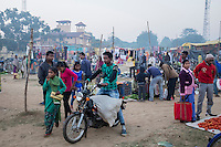 A village market, locally called 'haat', in Jaduguda. This 'haat' is held every Thursday and Sunday.