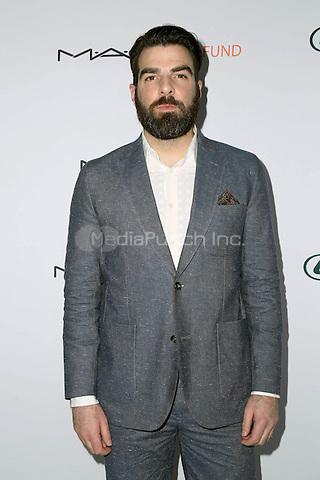HOLLYWOOD, CA - FEBRUARY 19:  Zachary Quinto at the 2017 Hollywood Beauty Awards at Avalon in Hollywood, California on February 19, 2017. Credit: David Edward/MediaPunch