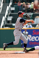 Toledo Mudhens Ryan Raburn during an International League game at Dunn Tire Park on June 8, 2006 in Buffalo, New York.  (Mike Janes/Four Seam Images)
