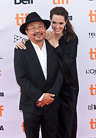 11 September 2017 - Toronto, Ontario Canada - Angelina Jolie, Rithy Panh. 2017 Toronto International Film Festival - &quot;First They Killed My Father&quot; Premiere held at Princess of Wales Theatre. <br /> CAP/ADM/BPC<br /> &copy;BPC/ADM/Capital Pictures