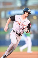 ***Temporary Unedited Reference File***Arkansas Travelers right fielder Brandon Bayardi (20) during a game against the Tulsa Drillers on April 28, 2016 at ONEOK Field in Tulsa, Oklahoma.  Tulsa defeated Arkansas 5-4.  (Mike Janes/Four Seam Images)