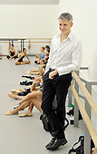 newly appointed Artistic Director of Scottish Ballet Christopher Hampson makes his first appearance for the media at their Tramway dance studio - picture by Donald MacLeod - 12.9.12 - 07702 31 9 738 - clanmacleod@btinternet.com - www.donald-macleod.com