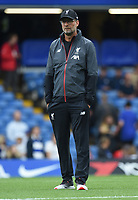 Liverpool Manager Jurgen Klopp during the Premier League match between Chelsea and Liverpool at Stamford Bridge on September 22nd 2019 in London, England. (Photo by Zed Jameson/phcimages.com)<br /> Foto PHC/Insidefoto <br /> ITALY ONLY