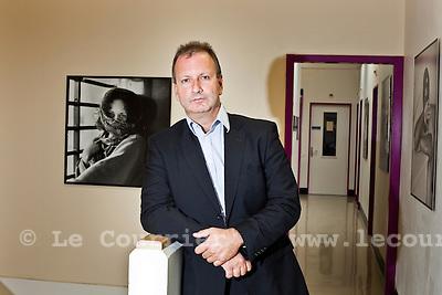 Genève, le 18.08.2010.Constantin Franziskakis, directeur de la prison de Champ-Dollon..© Jean-Patrick / Le Courrier