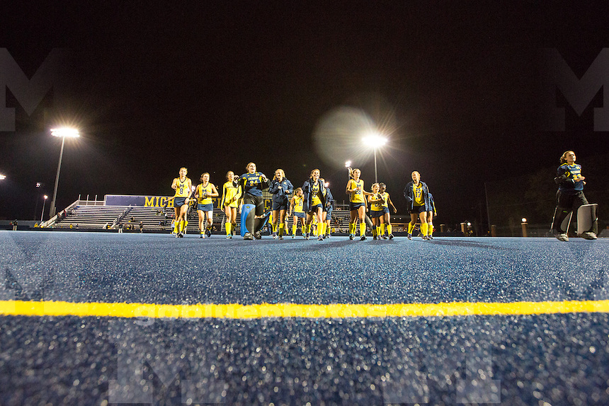 The University of Michigan women's field hockey team beats Providence, 2-0, at Ocker Field in Ann Arbor,MI. on Sept. 10, 2014.