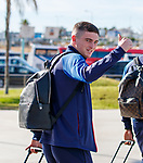 22.06.2019 Rangers arrive in Portugal: Jake Hastie