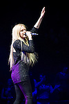 Avril Lavigne performs onstage during 103.5 KISS FM's Jingle Ball 2013, Presented by Jam Bluetooth Speakers, at United Center on December 9, 2013 in Chicago, IL.