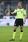 The referee Daniele Chiffi during the Coppa Italia match at Giuseppe Meazza, Milan. Picture date: 14th January 2020. Picture credit should read: Jonathan Moscrop/Sportimage