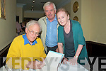 Paul Durcan: Poet Paul Durcan signing one of his books for Sean & Noreen McCarthy, Listowel at Writers Week on Friday.
