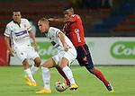 Con un único tanto de Luis Tipton, Independiente Medellín se impuso 1 – 0 ante Patriotas, en compromiso correspondiente a la fecha 14 de la Liga de Fútbol Profesional Colombiano, disputado en la noche de este miércoles en el estadio Atanasio Girardot de la capital antioqueña.