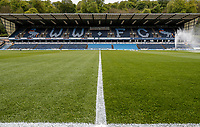 A general view of the Adams Park stadium <br /> <br /> Photographer Andrew Kearns/CameraSport<br /> <br /> The EFL Sky Bet League One - Wycombe Wanderers v Fleetwood Town - Saturday 4th May 2019 - Adams Park - Wycombe<br /> <br /> World Copyright © 2019 CameraSport. All rights reserved. 43 Linden Ave. Countesthorpe. Leicester. England. LE8 5PG - Tel: +44 (0) 116 277 4147 - admin@camerasport.com - www.camerasport.com