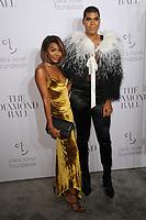 www.acepixs.com<br /> September 14, 2017  New York City<br /> <br /> Elisa Johnson and EJ Johnson attending Rihanna's 3rd Annual Clara Lionel Foundation Diamond Ball on September 14, 2017 in New York City.<br /> <br /> Credit: Kristin Callahan/ACE Pictures<br /> <br /> <br /> Tel: 646 769 0430<br /> Email: info@acepixs.com