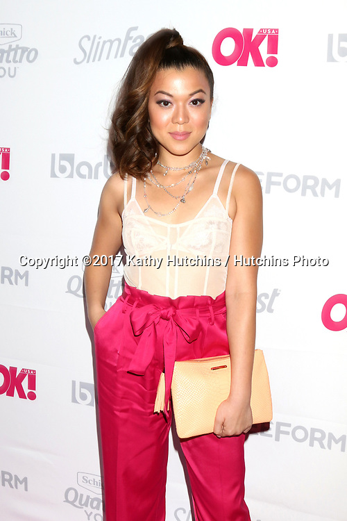 LOS ANGELES - MAY 17:  Angela Ko at the OK! Magazine Summer Kick-Off Party at the W Hollywood Hotel on May 17, 2017 in Los Angeles, CA
