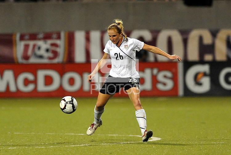 Rachel Buehler...USWNT tied Sweden 1-1 at Morrison Stadium, Omaha Nebraska.