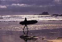 Chesterman Beach, near Tofino, Vancouver Island, British Columbia, Canada