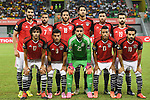 Egypt's squad pose for a group picture ahead of the 2017 Africa Cup of Nations group D football match between Mali and Egypt in Port-Gentil on January 17, 2017. Photo by Stranger