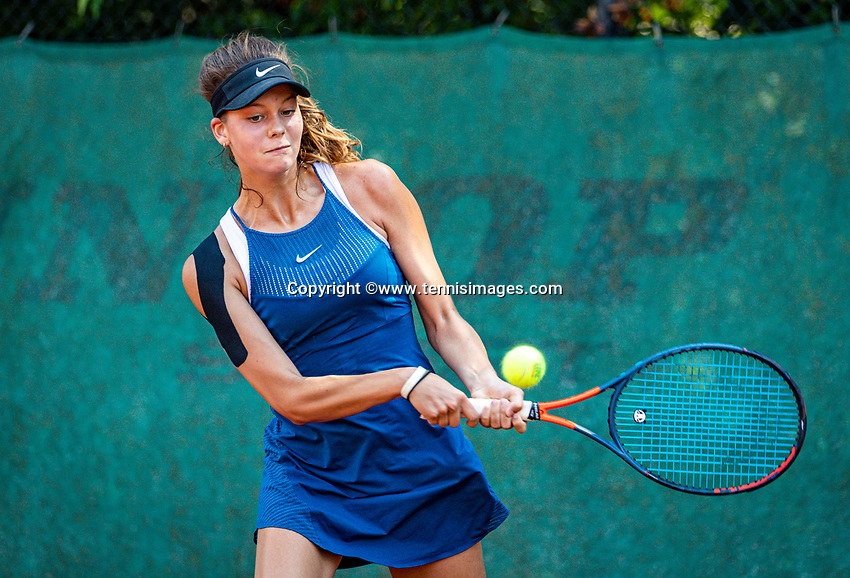 Hilversum, Netherlands, Juli 29, 2019, Tulip Tennis center, National Junior Tennis Championships 12 and 14 years, NJK, Solange Bellen (NED)<br /> Photo: Tennisimages/Henk Koster