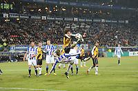 VOETBAL: SC HEERENVEEN: Abe Lenstra Stadion, 17-02-2012, SC-Heerenveen-NAC, Eredivisie, Eindstand 1-0, Jeffrey Gouweleeuw (3), Eric Botteghin, ©foto: Martin de Jong.