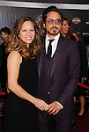 HOLLYWOOD, CA - APRIL 11: Robert Downey Jr. and Susan Downey attend the World premiere of 'Marvel's Avengers' at the El Capitan Theatre on April 11, 2012 in Hollywood, California.