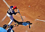 4 July 2010: Washington Nationals outfielder Josh Willingham in action against the New York Mets at Nationals Park in Washington, DC. The Mets defeated the Nationals 9-5, splitting their 4-game series. Mandatory Credit: Ed Wolfstein Photo