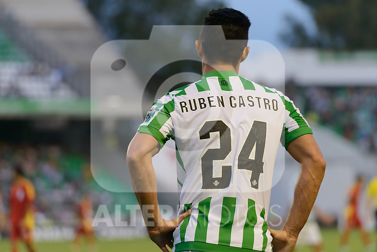 Betis player Ruben Castro during the match between Real Betis and Recreativo de Huelva day 10 of the spanish Adelante League 2014-2015 014-2015 played at the Benito Villamarin stadium of Seville. (PHOTO: CARLOS BOUZA / BOUZA PRESS / ALTER PHOTOS)
