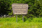 Jefferson Notch Road