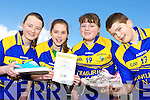 Roisin Brosnan, Brid Moriarty, Laura Fitzmaurice and Redmond Horan from Scoil Mhuire, Kilmurry NS, Cordal who asking people to put on the running shoes for the school's 5km fun run on Friday April 4th