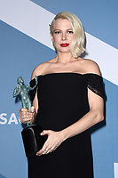 LOS ANGELES - JAN 19:  Michelle Williams at the 26th Screen Actors Guild Awards at the Shrine Auditorium on January 19, 2020 in Los Angeles, CA
