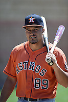 Houston Astros Nick Tanielu (89) before a minor league spring training game against the Atlanta Braves on March 29, 2015 at the Osceola County Stadium Complex in Kissimmee, Florida.  (Mike Janes/Four Seam Images)