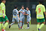 NTV Beleza team group, <br /> SEPTEMBER 17, 2017 - Football / Soccer : <br /> 2017 Plenus Nadeshiko League Division 1 match <br /> between JEF United Ichihara Chiba Ladies 0-1 NTV Beleza <br /> at Frontier Soccer Field in Chiba, Japan. <br /> (Photo by AFLO SPORT)