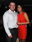 Shane Eveeritt celebrating his birthday in Brú with sister Katie. Photo:Colin Bell/pressphotos.ie