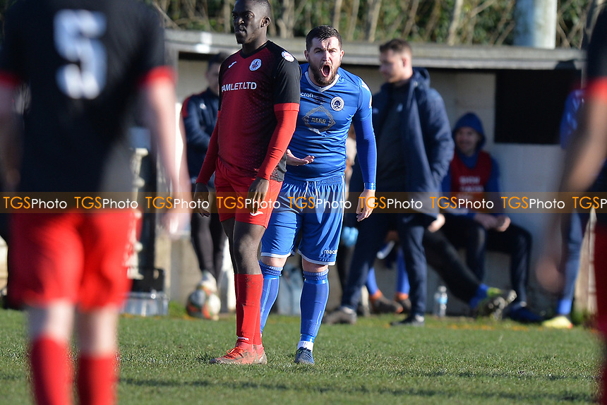 Jason Beck of Walthamstowduring Walthamstow vs Sawbridgeworth Town, Essex Senior League Football at Wadham Lodge Sports Ground on 8th February 2020