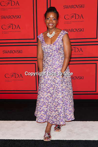 NEW YORK, NY - JUNE 3: Tracey Reese at the 2013 CFDA Fashion Awards at Lincoln Center's Alice Tully Hall in New York City. June 3, 2013. <br /> Credit: MediaPunch/face to face<br /> - Germany, Austria, Switzerland, Eastern Europe, Australia, UK, USA, Taiwan, Singapore, China, Malaysia, Thailand, Sweden, Estonia, Latvia and Lithuania rights only -