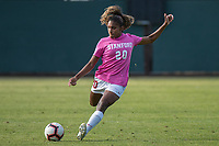 STANFORD, CA - OCTOBER 12: Catarina Macario #20 of the Stanford Cardinal during a game between the Stanford Cardinal and Washington Huskies women's soccer teams at Cagan Stadium on October 6, 2019 in Stanford, California. during a game between University of Washington and Stanford Soccer W at Laird Q. Cagan Stadium on October 12, 2019 in Stanford, California.