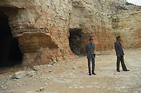 Sequestro di una cava. Seizure of a quarry....