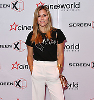 Zoe Hardman<br /> Launch party of Cineworld Group's new Korean-developed technology, using projections on the side of theatre walls to create a 270 degree viewing experience, at Cineworld Greenwich, The O2, London, England, UK.<br /> CAP/JOR<br /> &copy;JOR/Capital Pictures