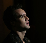 Brendon Urie, from Panic! at the Disco, in rehearsal for his Broadway debut as 'Charlie Price' in the long-running hit musical Kinky Boots at the Hirschfeld Theatre on May 24, 2017 in New York City.