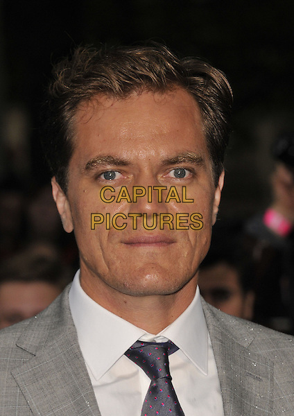 Michael Shannon<br /> 'Man Of Steel' UK film premiere, Empire cinema, Leicester Square, London, England.<br /> 12th June 2013<br /> headshot portrait grey gray suit white shirt purple tie<br /> CAP/DS<br /> &copy;Dudley Smith/Capital Pictures