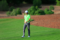Tommy Fleetwood (ENG) on the 14th fairway during the Pro-Am for the DP World Tour Championship at the Jumeirah Golf Estates in Dubai, UAE on Monday 16/11/15.<br /> Picture: Golffile | Thos Caffrey<br /> <br /> All photo usage must carry mandatory copyright credit (© Golffile | Thos Caffrey)