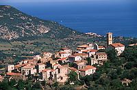 France/2B/Haute Corse/Balagne/Aregno: le village
