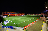A general view of Sincil Bank, home of Lincoln City FC<br /> <br /> Photographer Chris Vaughan/CameraSport<br /> <br /> The EFL Checkatrade Trophy Northern Group H - Lincoln City v Wolverhampton Wanderers U21 - Tuesday 6th November 2018 - Sincil Bank - Lincoln<br />  <br /> World Copyright © 2018 CameraSport. All rights reserved. 43 Linden Ave. Countesthorpe. Leicester. England. LE8 5PG - Tel: +44 (0) 116 277 4147 - admin@camerasport.com - www.camerasport.com
