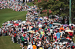 Yani Tseng' supporters cheer on the 8th hole during the Day 4 of the LPGA Sunrise Taiwan Championship on at Sunrise Golf Course on October 23, 2011 in Taoyuan, Taiwan. Photo by Victor Fraile / The Power of Sport Images