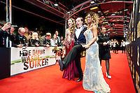 Utrecht, 25 september 2013<br /> Nederlands Film Festival 2013<br /> Gaite Jansen (links), regisseur Jean van de Velde en Yootha Wong-Loi-Sing op de rode loper.<br /> Openingsavond, premiere Hoe Duur Was de Suiker<br /> Foto Felix Kalkman