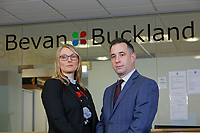 Bevan and Buckland Accountants in their office in SA1, Swansea, Wales, UK. Friday 15 March 2019