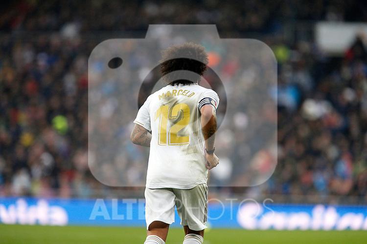 Real Madrid CF's Marcelo Vieira during La Liga match. Jan 18, 2020. (ALTERPHOTOS/Manu R.B.)