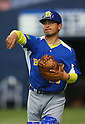 Bruno Hirata (BRA), .February 26, 2013 - WBC : .2013 World Baseball Classic, Exhibithion Game .match between Brazil 2-6 ORIX Buffaloes .at Kyocera Dome, Osaka, Japan..(Photo by AJPS/AFLO SPORT)